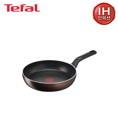 테팔 인덕션 초콜릿 티타늄프로 후라이팬 24cm