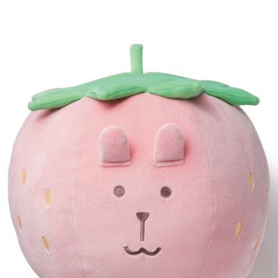 크래프트홀릭 STRAWBERRY RAB CUSHION