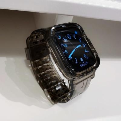애플워치 5 4 3 스포츠 루프 투명 밴드 스트랩 시계줄