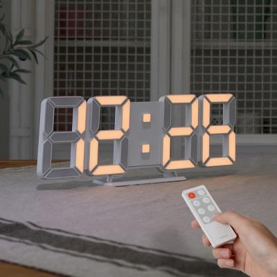 [무아스] 퓨어 화이트골드 30cm 슬림형 led 벽시계(M)