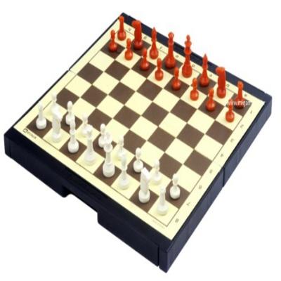 온가족 어린이 아동 게임 휴대용 미니 자석 체스 세트