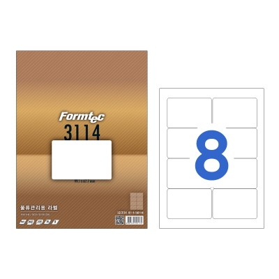 폼텍 물류관리용 라벨/LQ-3114