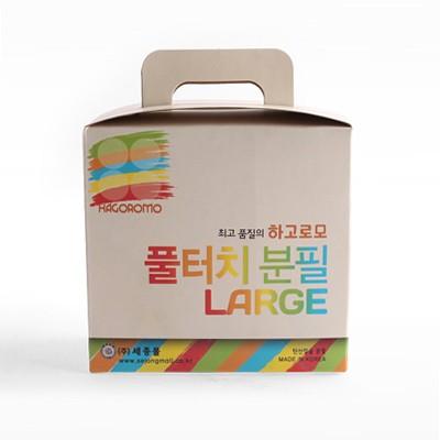 하고로모 분필 - 탄산라지 파랑 1통 15(本)