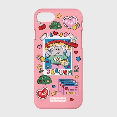 kkikki love jelly-pink(color jelly)