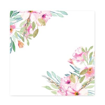 캘리그림엽서-수채꽃(10장)