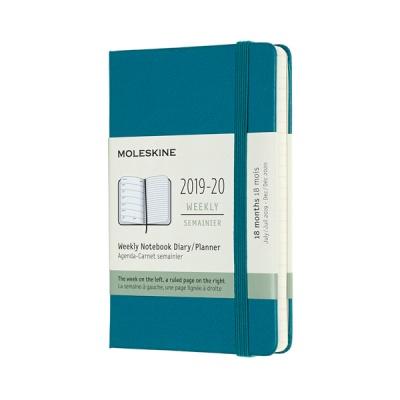몰스킨 2020위클리(18M)/마그네틱 그린 하드 P