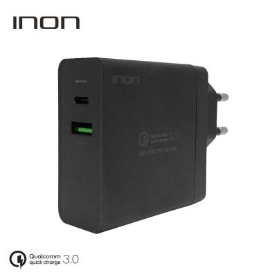 QC3.0 63W 2포트 USB PD 고속 멀티충전기 IN-UC210P