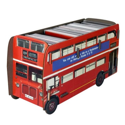 CD BOX double-decker bus (펜홀더)