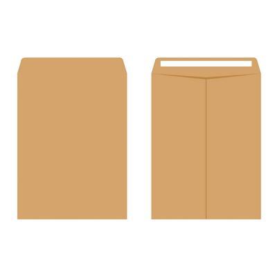 이화 접착 양면 각대봉투 A4 100매 서류 행정