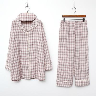 Le Me Check Pajama Set - 안대포함