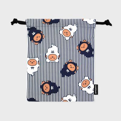 Ghost bear-stripe(스트링파우치)