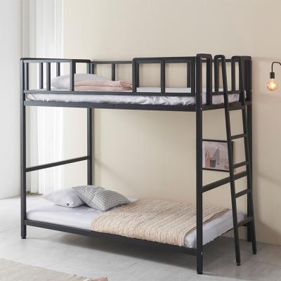 방이 좁아도 걱정없는 철제 2층 침대 프레임 깔판