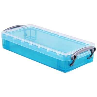 [Really Useful] 클리어박스0.55리터 (Litre) 투명블루 [개/1] 302638