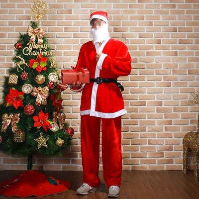 고급형산타복장(남성용) 크리스마스이벤트복장