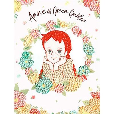 빨강머리앤 분홍빛꿈결 5D 보석십자수 액자세트 15x20
