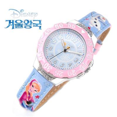 [Disney] 디즈니 겨울왕국 엘사-4 캐릭터 아동용 시계 [본사정품]