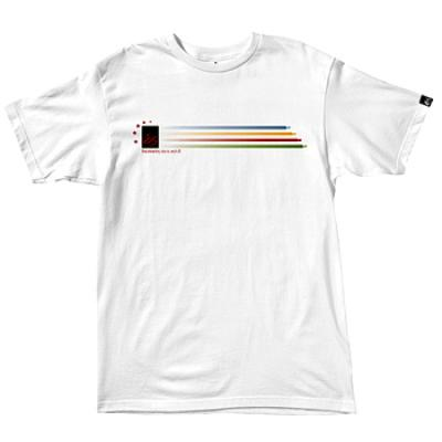 [eS] RACE TRACK BASIC FIT S/S (White)