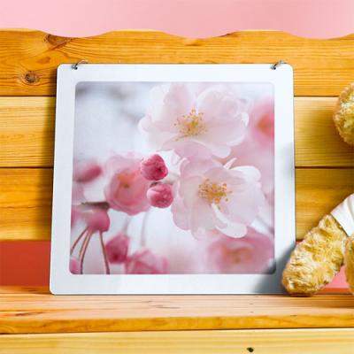 np525-행잉액자_그리운봄날의벚꽃(사각중형)