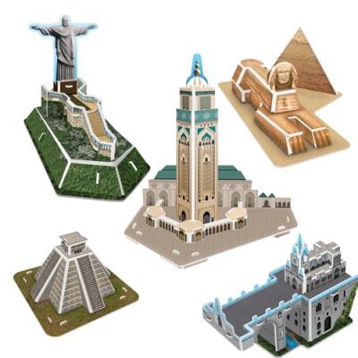 세계 유명 미니 건축물 시리즈 4 - 남미/아프리카