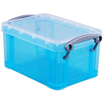 [Really Useful] 클리어박스0.7리터 (Litre) 투명블루 [개/1] 302642