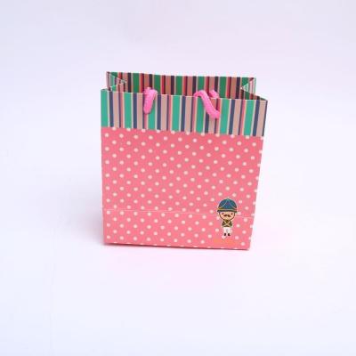 3꼬마병정 핑크 소 종이 선물 포장 답례품 가방 백