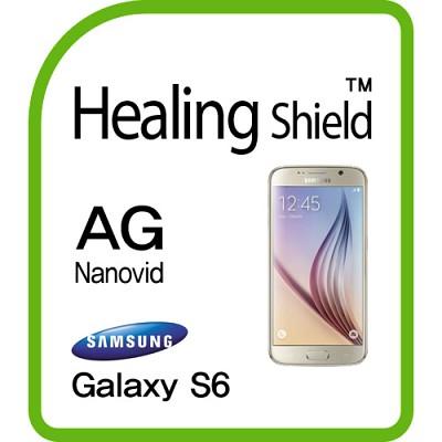 [힐링쉴드] 갤럭시S6 AG Nanovid 저반사 지문방지 액정보호필름 2매+후면보호필름 1매(HS150780)