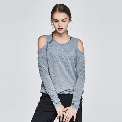 [TS7052 멜란지그레이]여자 런닝복 겸용 서플렉스 긴팔 요가복