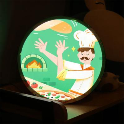 nh968-LED액자35R_맛있는거해줄게(피자)