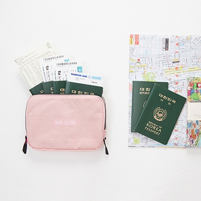 FAMILY PASSPORT BAG & POUCH
