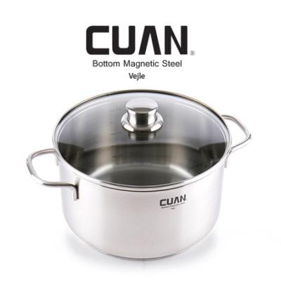 [CUAN] 쿠앤 바일레 스텐레스 냄비 24양수