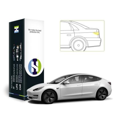 테슬라 모델 3 자동차용품 PPF 필름 전기충전구 세트