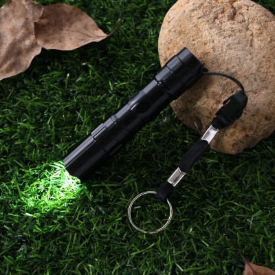 파워온 LED 슬림 손전등(블랙)