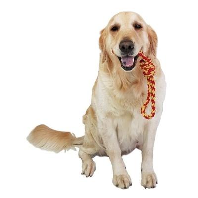 강아지 덴탈 구강 장난감 물어뜯기 터그 실타래