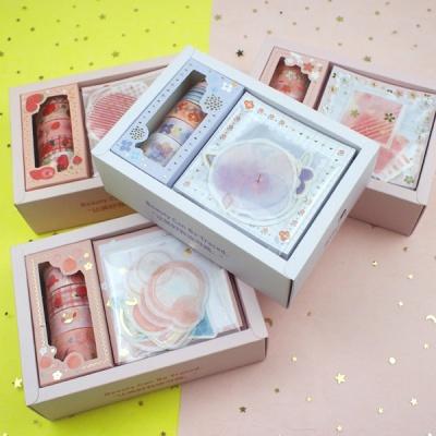마스킹테이프 스티커 메모세트 상자 선물세트