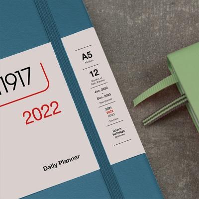 로이텀 2022 데일리 플래너 - BLACK(포켓)