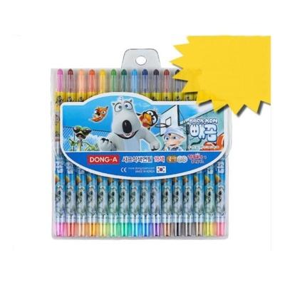 빼꼼 샤프식 색연필 16색