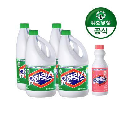[유한양행]후레쉬 2L x 4개+후로랄500mL