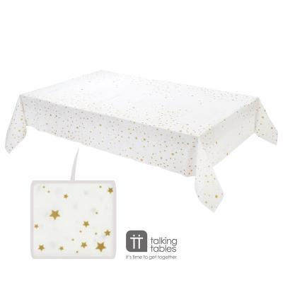 골드 별무늬 테이블커버 Star Gold Table Cover