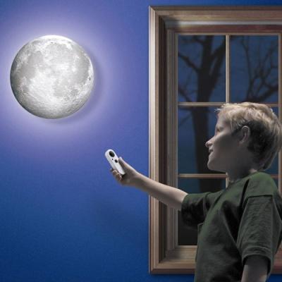보름달 벽부착 LED 무드등