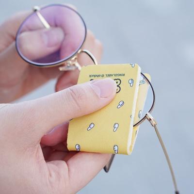 캐릭터 휴대용 안경닦이 4종 초극세사 포켓클리너
