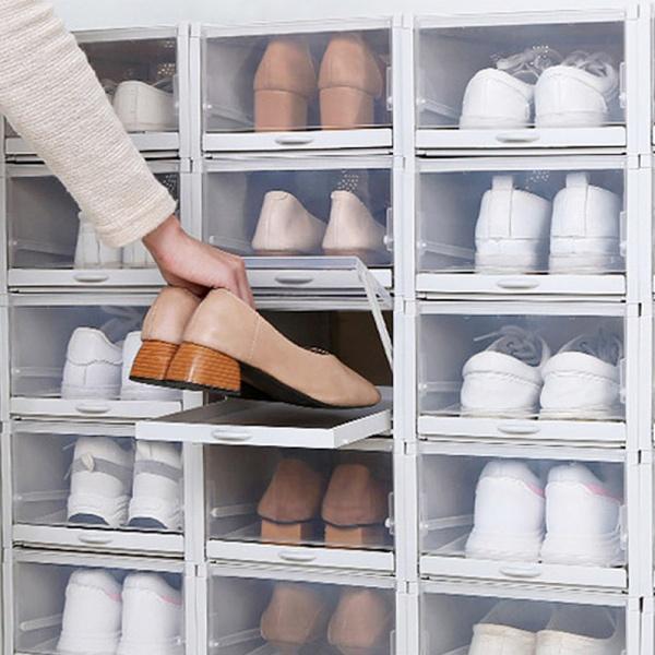아이디어 폴딩 신발 수납장 (3P)