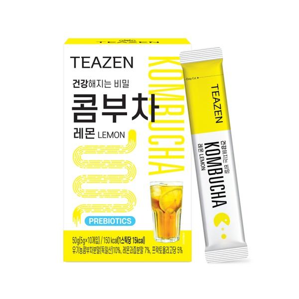 티젠 콤부차 레몬 10스틱