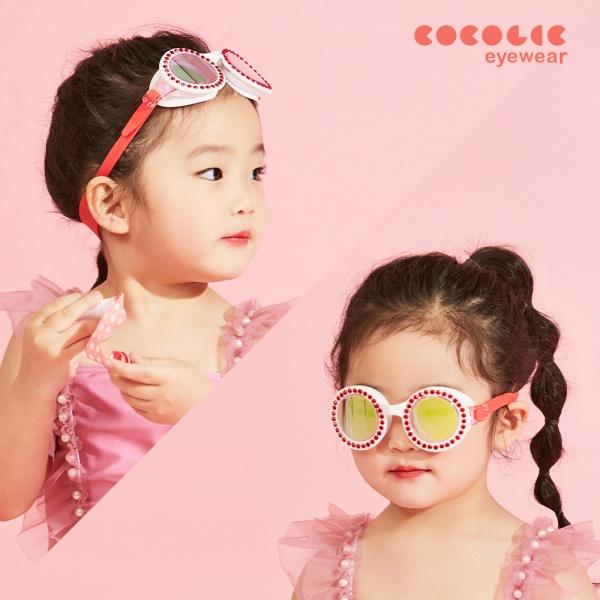 코코릭 COCOLIC 유아동 KC인증 하트 링 물안경