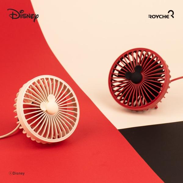 [로이체] 디즈니 미키마우스 USB 차량용 팬