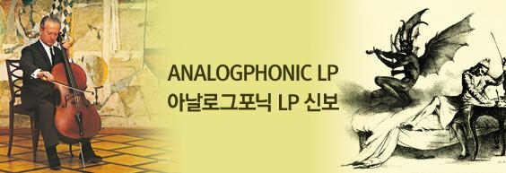 ANALOGPHONIC LP 신보