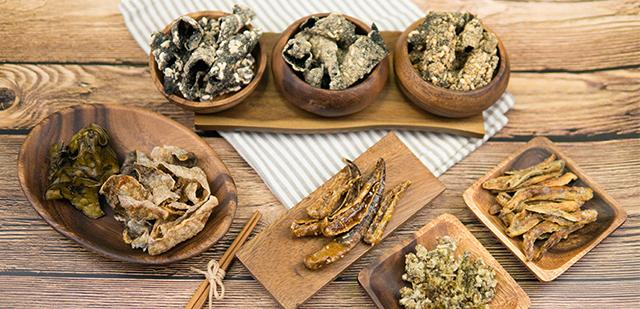 국산 재료로 건강하게, 도래푸드 전통 수제부각