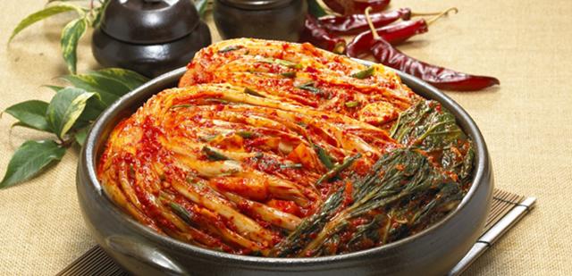 아삭- 아삭- 맛있는 소리 #김치