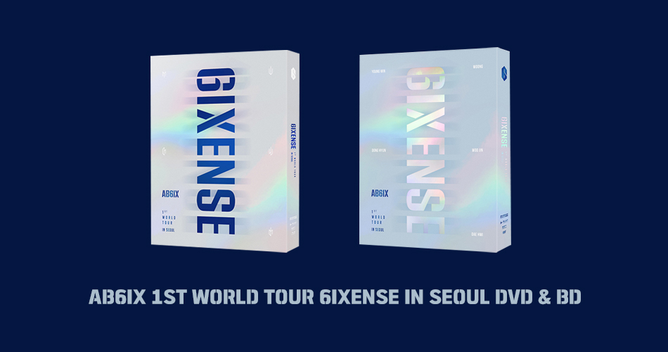 [ AB6IX 1ST WORLD TOUR 6IXENSE IN SEOUL DVD & BD  ]