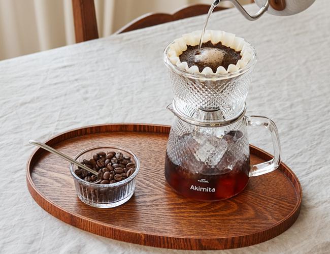 깔끔한 맛의 커피 추출, 빈플러스