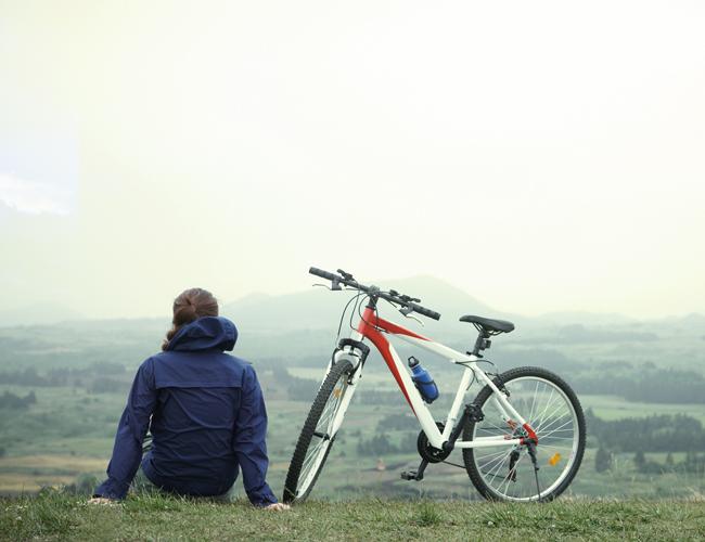 한강 자전거 라이딩 어때요?
